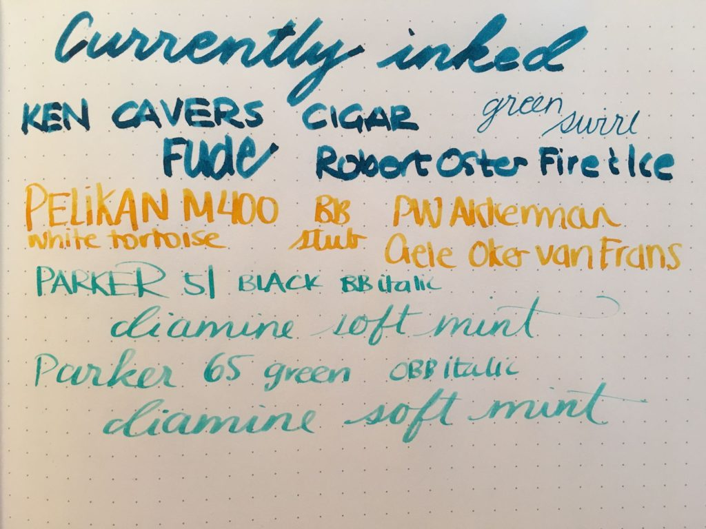 Currently Inked - June 3. 2017