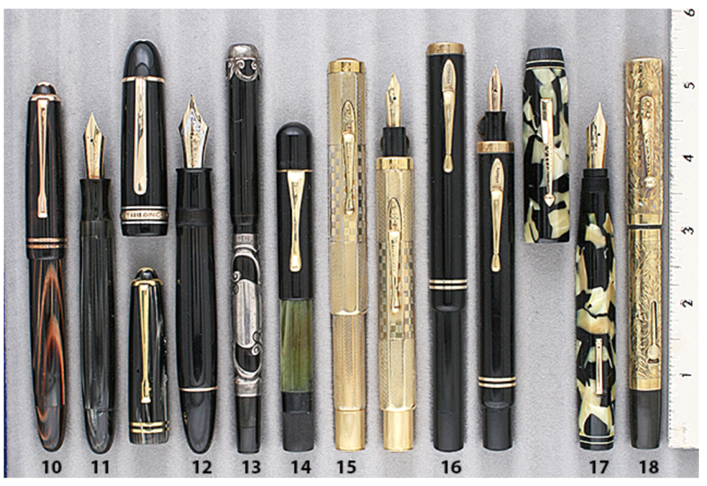 Extraordinary Vintage Pens Tri-Pen Manufacturing Co.
