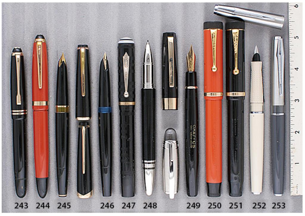 Vintage Pens - Parker Student Victory Prototypes