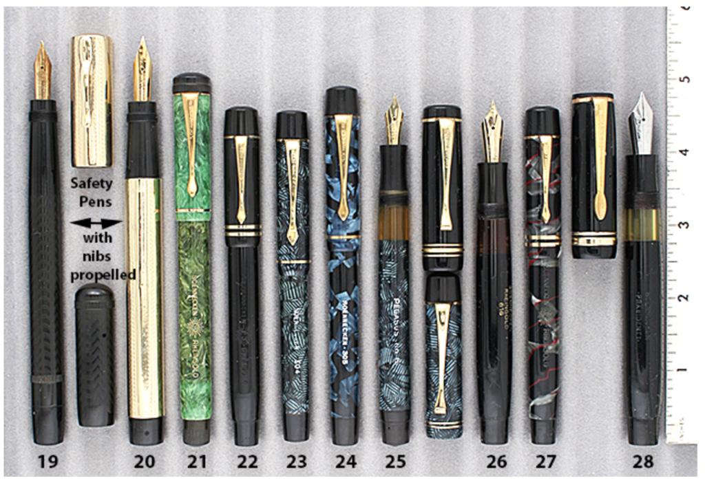Vintage Pens Soennecken Safety