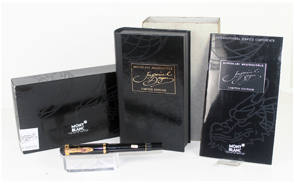 Montblanc Writer's Edition Imperial Dragon