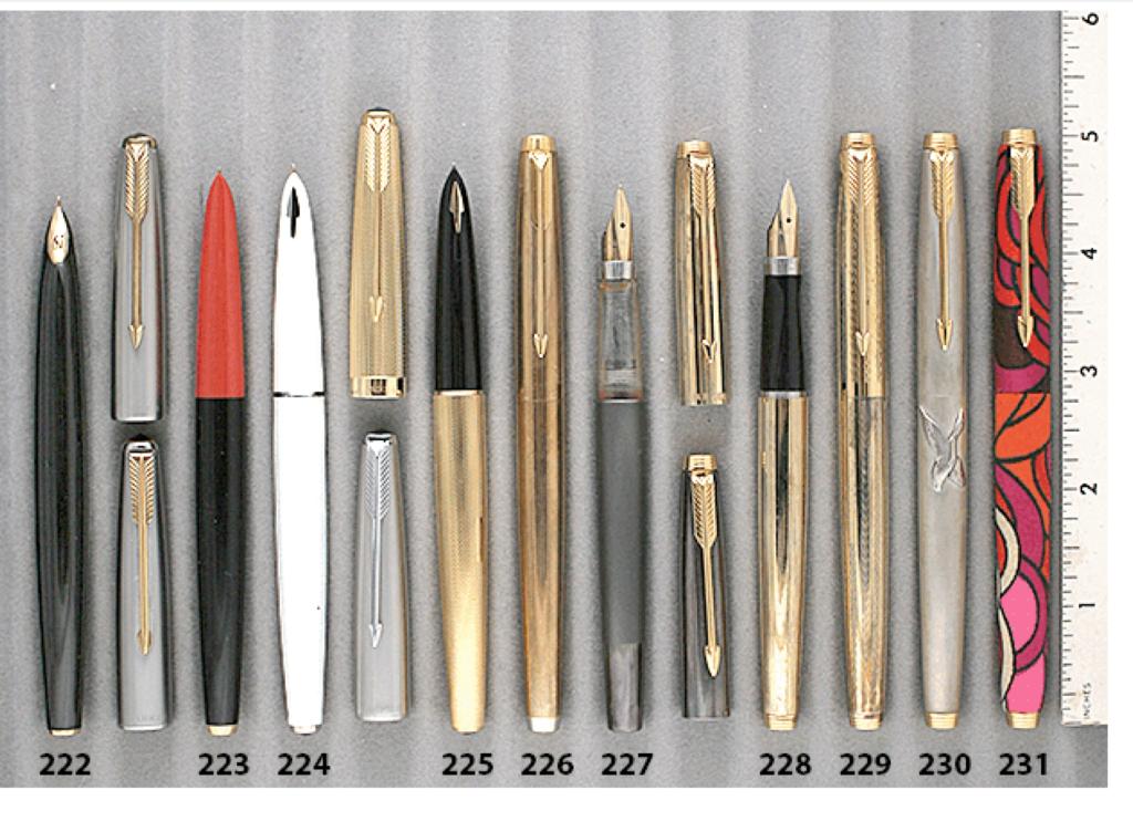 Catalog, Catalogs, Extraordinary Pens, Fountain Pens, Go Pens, GoPens, Vintage Fountain Pen, Vintage Fountain Pens, Vintage Pen, Vintage Pens, Parker