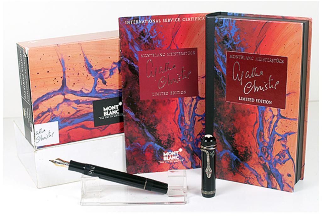 Catalog, Catalogs, Extraordinary Pens, Fountain Pens, Go Pens, GoPens, Vintage Fountain Pen, Vintage Fountain Pens, Vintage Pen, Vintage Pens, Montblanc, Agatha Christie
