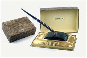 Montblanc Model 204 Desk Set Vintage Pen