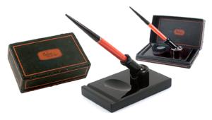 Parker Duofold SR Desk Set Vintage Pen