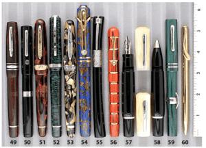 Stipula Novecento Limited Edition Woodgrain Ebonite Fountain Pen Tray