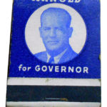 Arnold for Governor Matchbook Front Cover