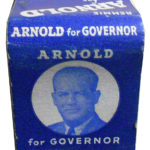 Arnold for Governor Matchbook Outside