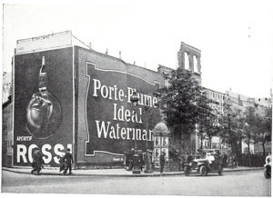 Huge Waterman Poster in Paris