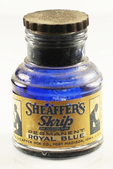 Script Ink Bottle